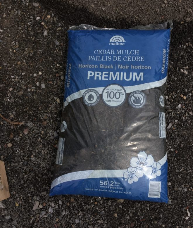 Horizon Black Mulch – Bagged