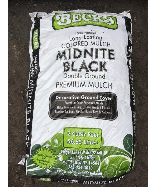 Midnite Black Mulch – Bagged