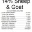Original Feeds 14% Sheep & Goat Textured Feed (Non-GMO)