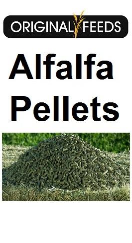 Original Feeds Alfalfa Pellets (Non-GMO)