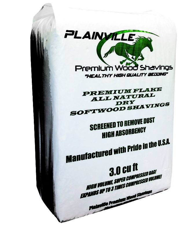 Plainville Premium Wood Shavings 3.0cuft