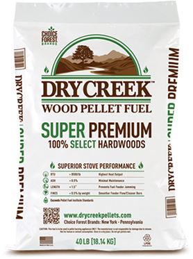 Dry Creek Super Premium Wood Pellets- Bagged Ton
