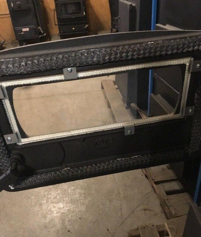 Keystoker Koker Coal Furnace Glass 6×16″ (Includes Clips/Screws/Gasket)