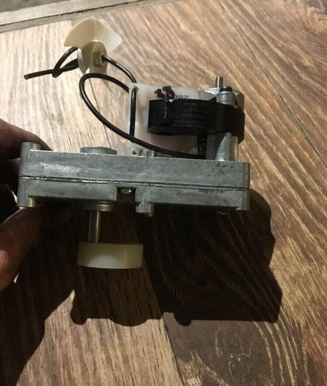 Keystoker Coal Stove Gear Motor MK-Large w/ Fan & Nylon CAM